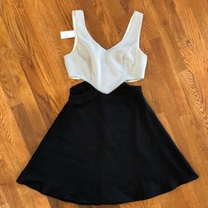 New with tags NWT Black Skater dress Small